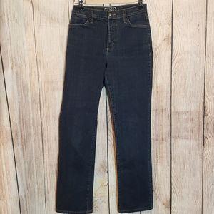 NYDJ Marilyn Style #731 straight leg jeans, size 6